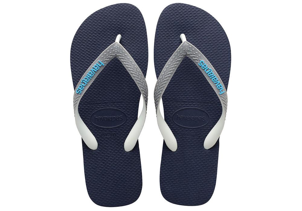 Havaianas Top Mix Sandals Children Blue Black At Addnature